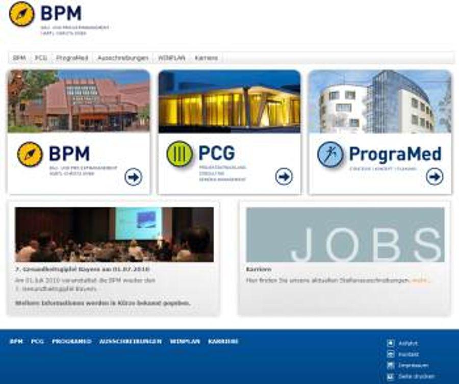 BPM in Eggenfelden mit neuem Internet-Konzept