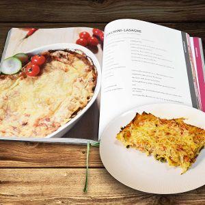 Sommerliche Lasagne mit Zucchini