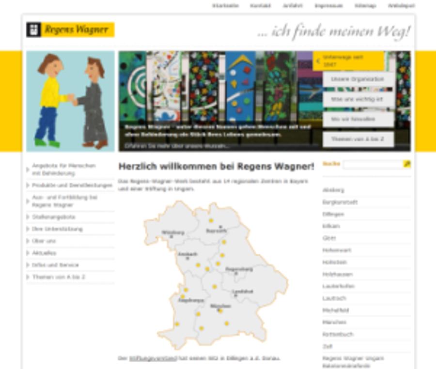 Regens Wagner Dillingen geht mit 14 Standorten online