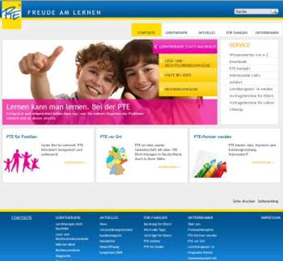 PTE-Franchisesystem geht online
