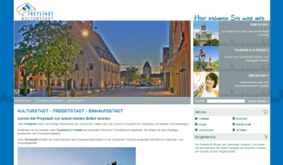 Neue Website für Freystadt geht online