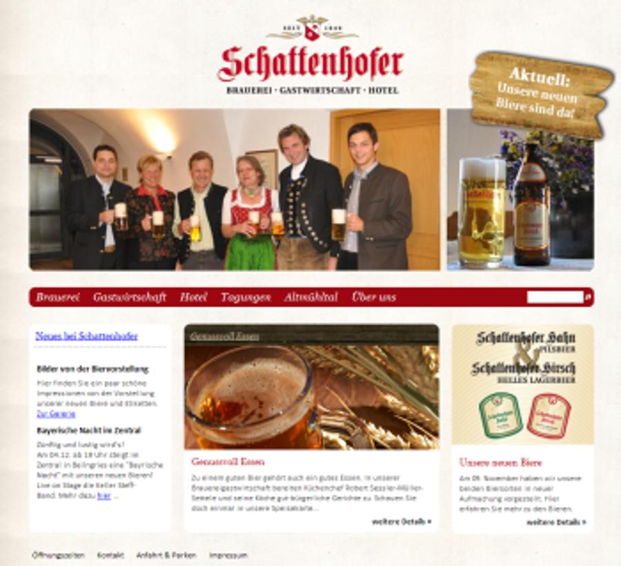 Beilngrieser Brauerei Schattenhofer geht online
