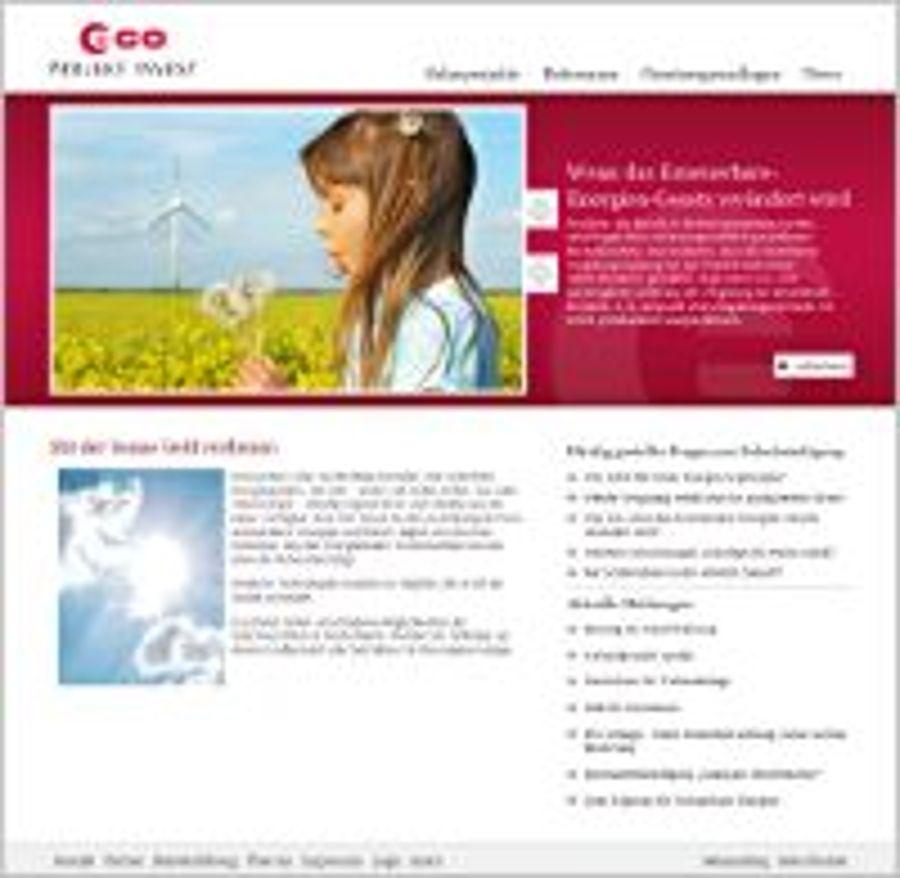 ECO Projekt Invest in moderner Optik