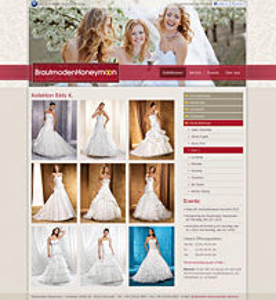Neue Kleider für Brautmoden Honeymoon