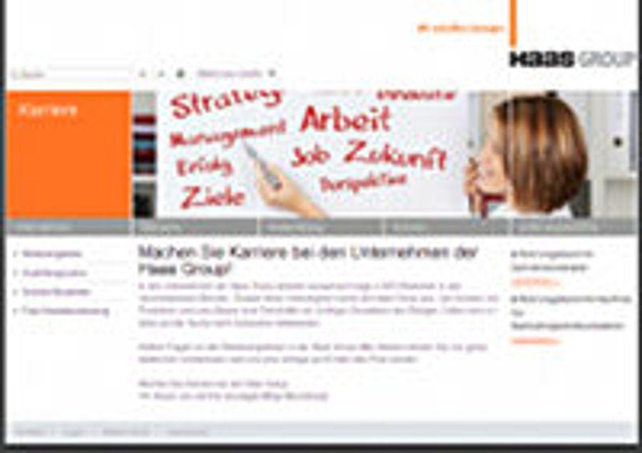 Zentrales Karriereportal für Haas Group