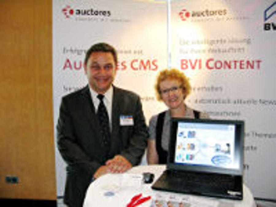 Auctores beim Deutschen Immobilien Kongress 2012