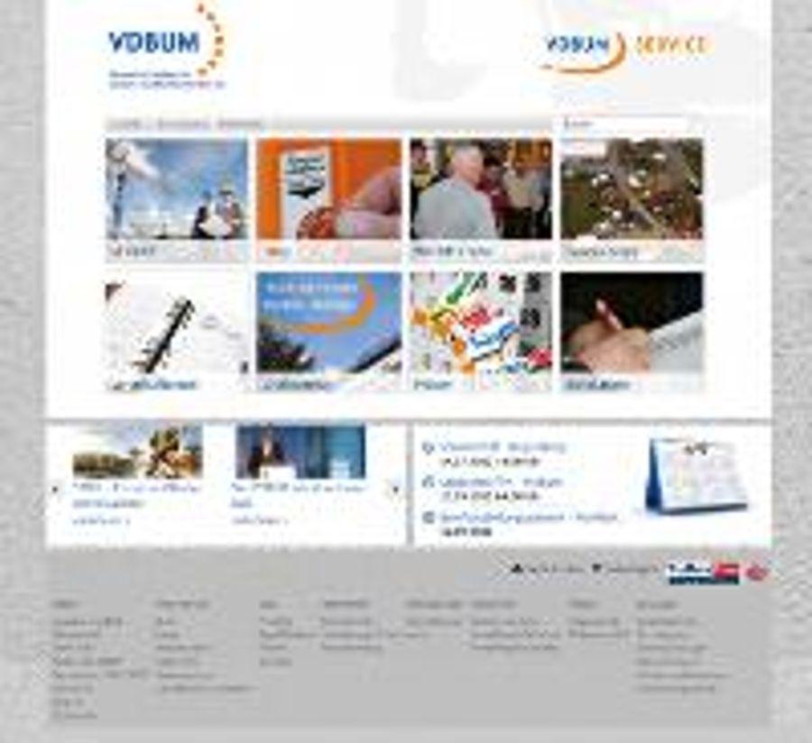VDBUM: Frisch überarbeitet im Web