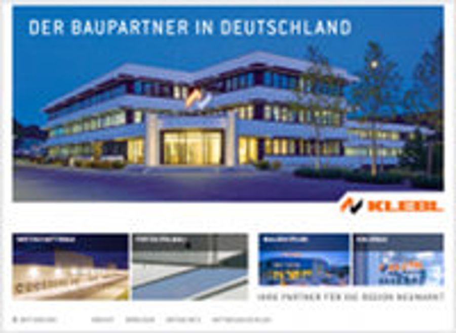 Klebl geht mit neuem Corporate Design online