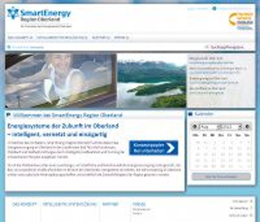 "Energiewende konkret: ""SmartEnergy Region Oberland"""