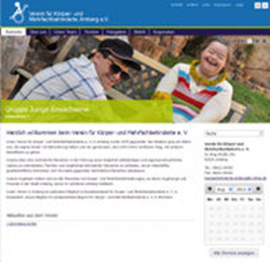 Relaunch beim Verein für Körper- und Mehrfachbehinderte Amberg